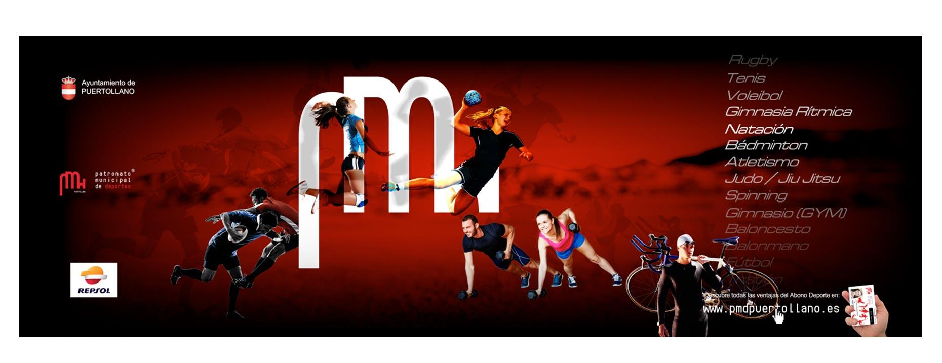 carteles diseño gráfico ciudad real patronato de deportes 2