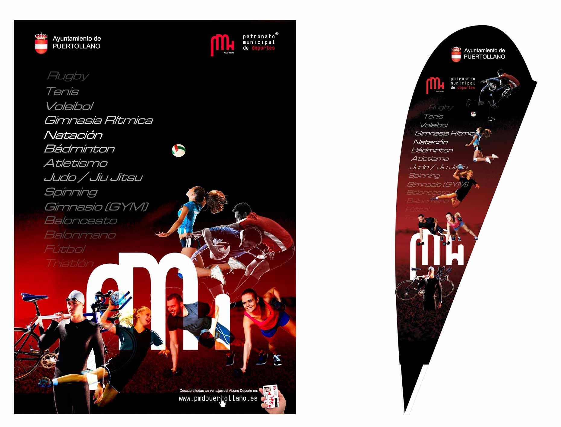 carteles diseño gráfico ciudad real patronato de deportes 3