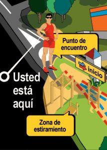 ilustración diseño gráfico patronato de deportes