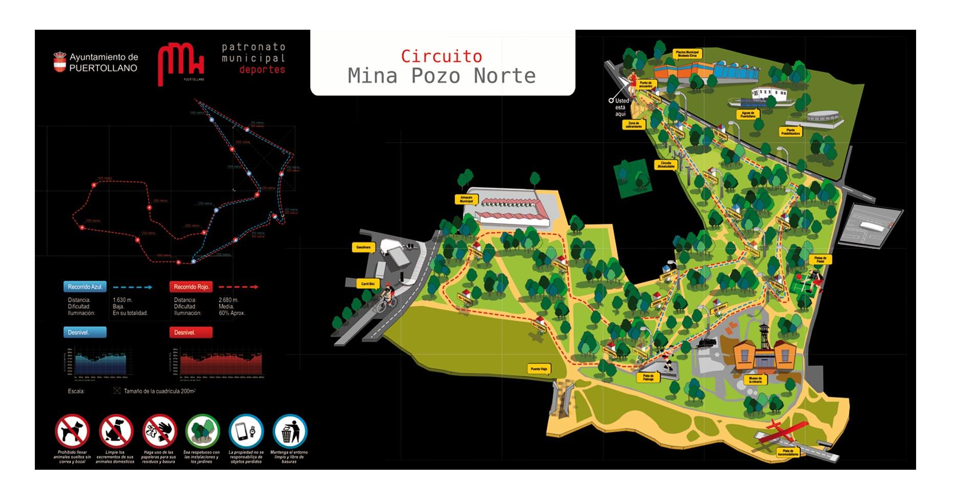 ilustración diseño gráfico ciudad real patronato de deportes