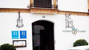 Diseño de página web Sevilla. La Casona de Calderón. www.modoweb.es