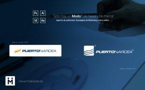 diseño de Marca. Identidad Corporativa en Ciudad Real Puertonarcea. www.modoweb.es