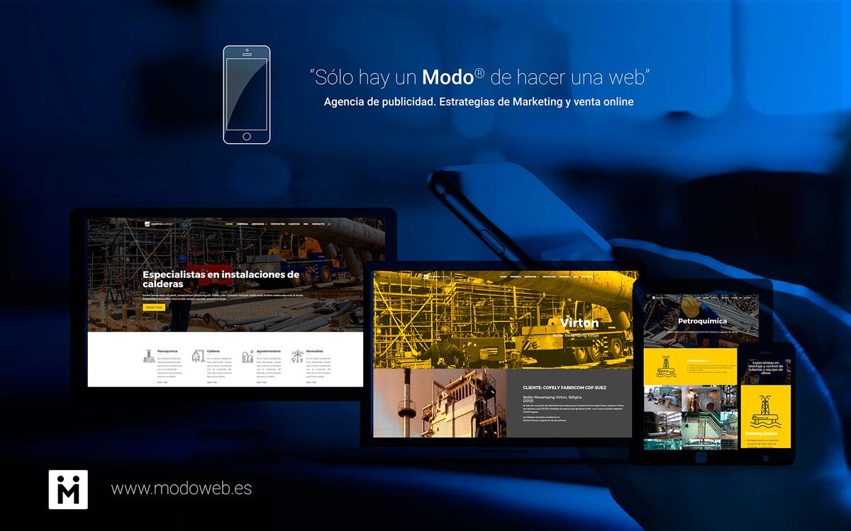 Diseño de páginas web en Ciudad Rea. Diseño para Puertonarcea. Puertollano.