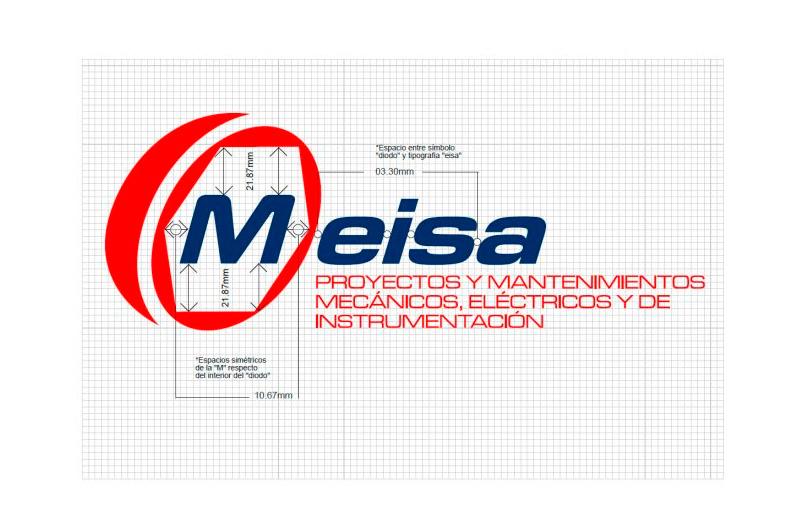 Logotipo de Meisa. Diseño gráfico en Puertollano. Ciudad Real.