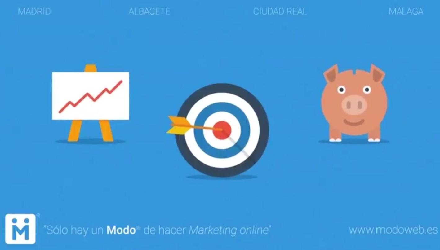 Campaña de marketing online. modoweb.es Diseño de páginas web Ciudad Real. Madrid. Albacete. Málaga