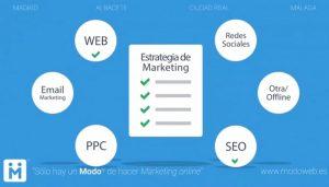 Campaña de marketing online. modoweb.es Diseño de páginas web Ciudad Real