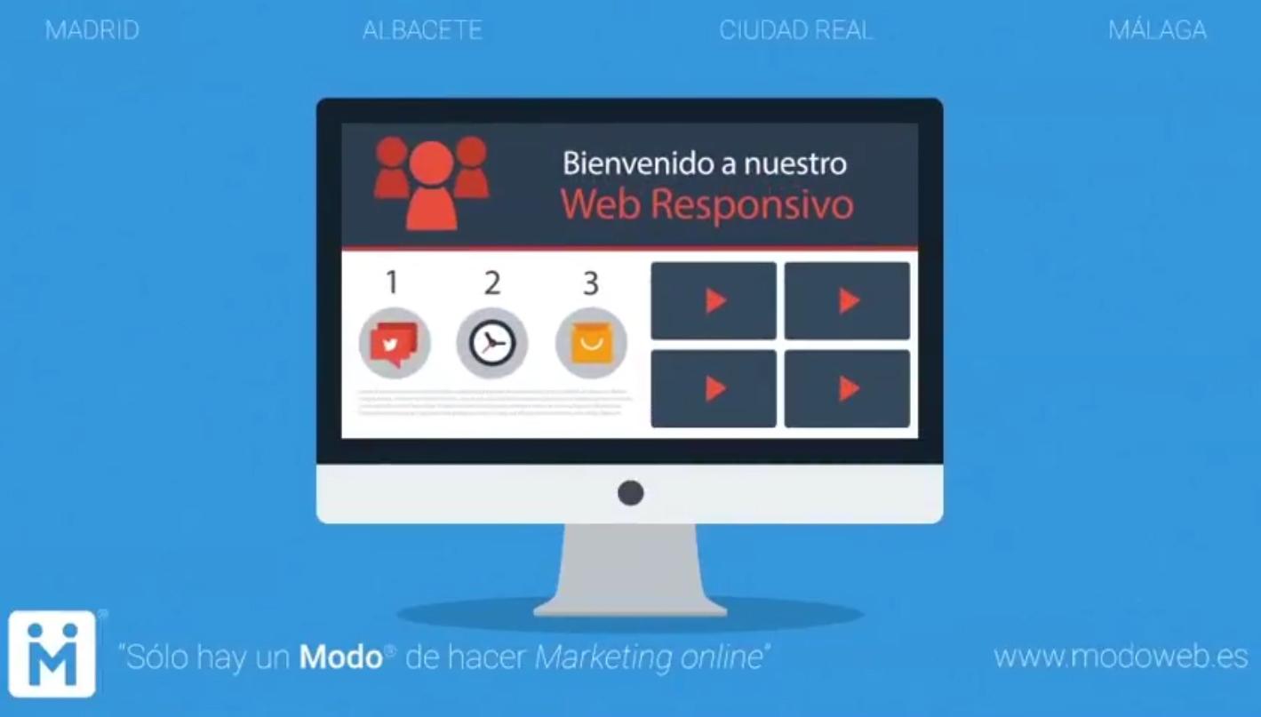 Marketing online. modoweb.es Diseño de páginas web Ciudad Real. Madrid. Albacete. Málaga