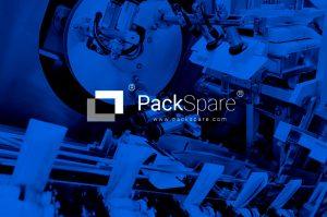 Diseño gráfico Logotipo. modoweb. Packspare. Repuestos industriales B2B2C. Puertollano. Ciudad Real. Huelva. Madrid. Tarragona. Marruecos.