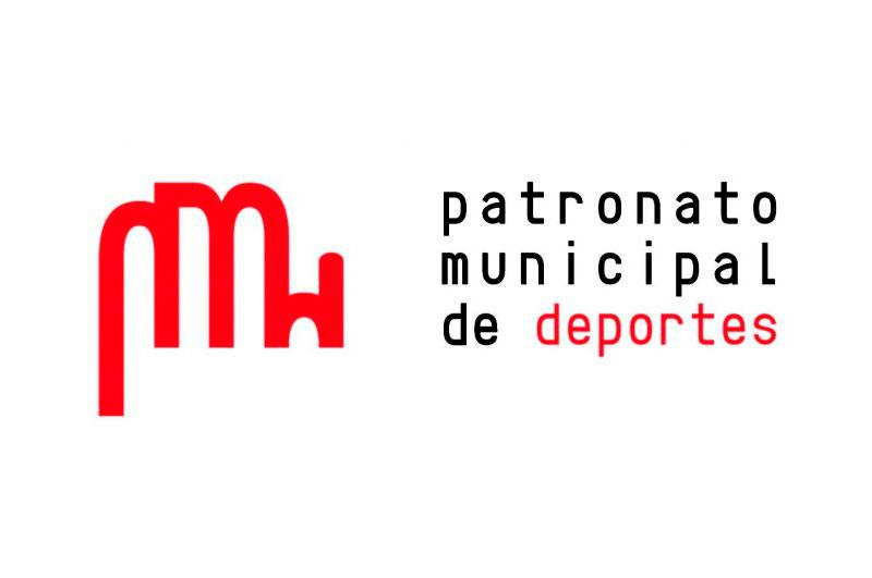 Logotipo del patronato municipal de deportes de Puertollnano. Ciudad Real