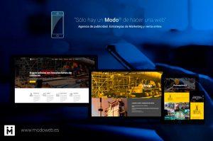 Modoweb. Identidad corporativa Puertonarcea. Diseño gráfico Puertollano. Ciudad Real. Madrid.