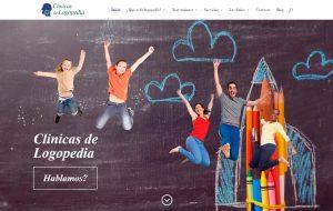 Diseño de páginas web Puertollano. Clícas de Logopedia. Ciudad Real. Modoweb.es