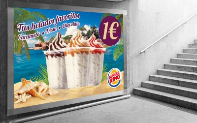Burguer King te trae tus helados favoritos